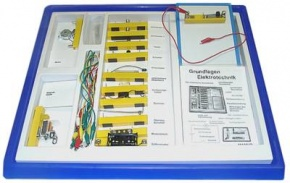 Elektrobaukasten 1, Grundschaltungen, im SEG-Einschub