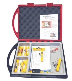 Elektrobaukasten 1, einfache Grundlagen, im Kunststoffkoffer