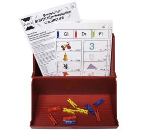 Aufbewahrungs - Kasten DIN A 5, für Bergedorfer ® COLORCLIPS