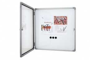 Schaukasten für innen, extra flach, magnethaftend, für 12x DIN A