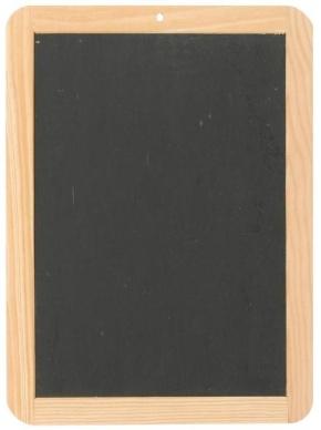 Schiefertafel 29,5 x 21,8 cm, Schreiben wie anno dazumal! Das or