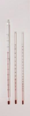 Thermometer, -10 bis + 110°C, rote Füllung, 6mm Durchmesser