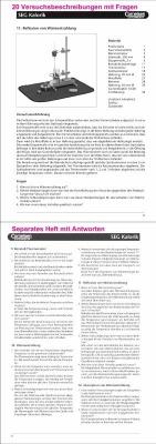 Schüler- Experimentiergeräte (SEG) Kalorik