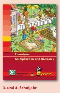 Max Lernkarten,  Multiplikation und Division bis 1000