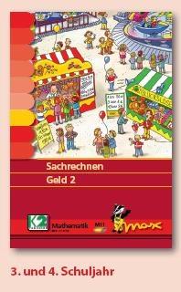 Max Lernkarten,  Sachrechnen Geld 2