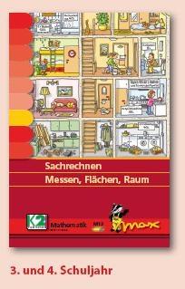 Max Lernkarten,  Sachrechnen Messen, Flächen, Raum
