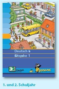 Max Lernkarten,  Deutsch als Zweitsprache 1/2 Schuljahr