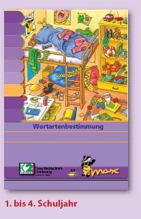 Max Lernkarten,  Wortartenbestimmung