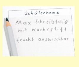 Max Schreibstifte, 12 Stück, feucht abwischbar, schwarz