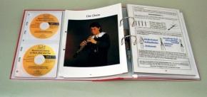 Transparentmappe Musikinstrumente in Wort, Bild und Ton