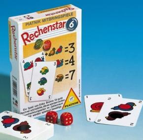 Rechenstar - Grundrechenarten - Lernspiel von Piatnik