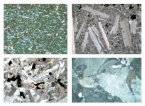 Gesteinsdünnschliffe Serie III, 31 Dauerpräparate