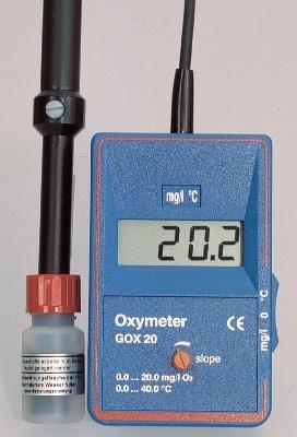 Digitales Sauerstoffmessgerät mit Sauerstoffsonde