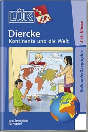 Lük-Heft Diercke Kontinente und die Welt