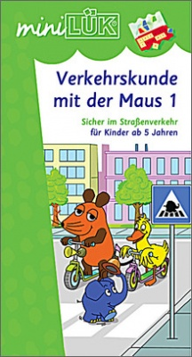 mini-Lük Heft Verkehrskunde mit Maus 1