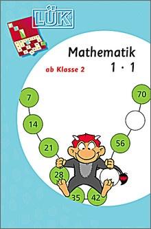 Lük-Heft Mathematik 1x1