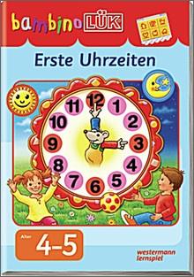 bambinoLük-Heft Erste Uhrzeiten