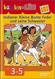 bambinoLük-Heft Indianer Kleine Bunte Feder