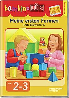 bambinoLük-Heft Meine ersten Formen, Erste Bildwörter 6