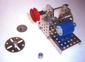 Metallbaukasten Construction Getriebe C150
