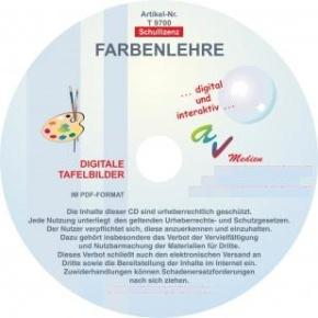 Digitale Folien auf CD - Farbenlehre