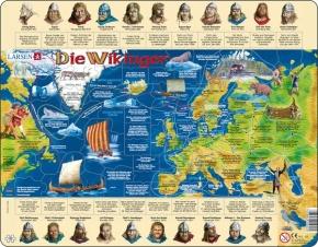 Puzzle - Die Wikinger, Format 36,5x28,5 cm, Teile 102