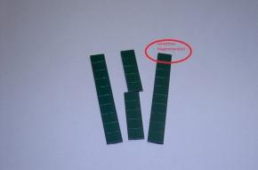 Magnetsymbol für Zusatzplan, 10x15mm, dunkelgrün