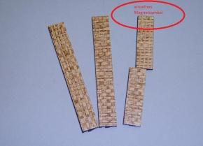 Magnetsymbol für Zusatzplan, 10x15mm, beige meliert