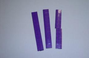 Satz Kippmagnete für Zusatzpläne, violett