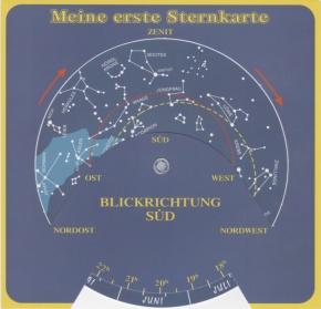 Meine erste Sternkarte, Sternkarte zum Selbstbauen