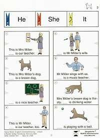 Bergedorfer Colorclips, Englisch-Grammatiktraining - einfach
