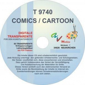 Digitale Folien auf CD - Comics / Cartoon