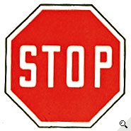 Kinder im Verkehr: Verkehrszeichen